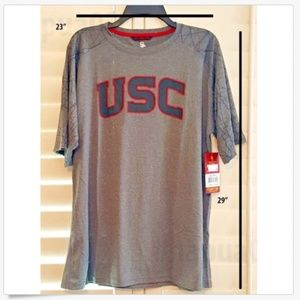 USC Authentic Apparel Shirts - New USC Trojans Southern California Active T-Shirt